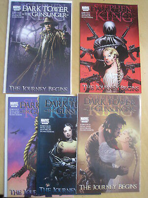 "STEPHEN KING : DARK TOWER, ""The JOURNEY BEGINS"" : complete 5 issue 2010 series"