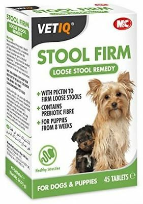 Vetiq M&c Stool Firm Loose Stool Aid Dogs & Puppies From 8 Wks 45 Tablets