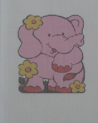 Small Pink Elephant Tapestry Canvas