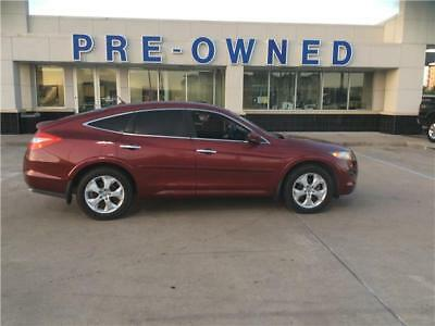 Accord Crosstour EX-L 2010 Honda Accord Crosstour EX-L 62,399 Miles Red Hatchback Gas V6 3.5L/212 Auto