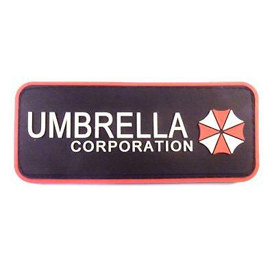 Resident Evil Umbrella Corporation PVC Rubber 3D Cosplay Tactical fastener patch