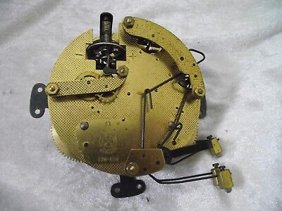 Vintage GERMAN FHS MANTLE Clock Movement   spares or repairs