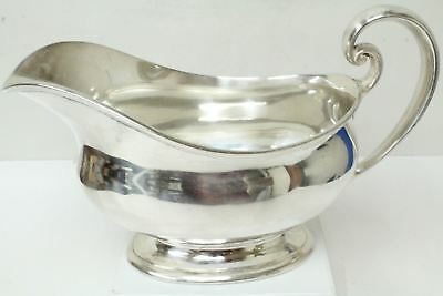 Tiffany & Co. 20229 Sterling Silver Gravy Boat/Hamilton Pattern/ 389.6grams