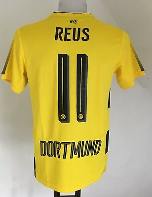 Borussia Dortmund 2017/18 S/s Home Shirt Reus 11 By Puma Size Adults Xl New
