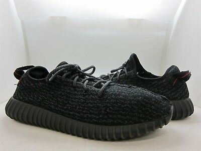 419ca052434 Adidas Mens Pirate Black  Yeezy Boost 350  Running Shoes SZ 11.5 MSRP   850