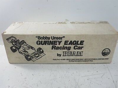 Beam Bobby Unser Gurney Eagle Racing Car 4/5 Quart Decanter