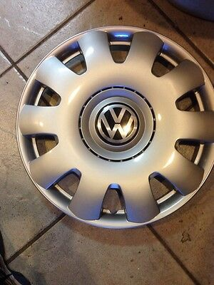 """1 -  VW Jetta 15"""" HUBCAP HUB CAP WHEELCOVER AFTERMARKET W/DECAL 2003-2011"""