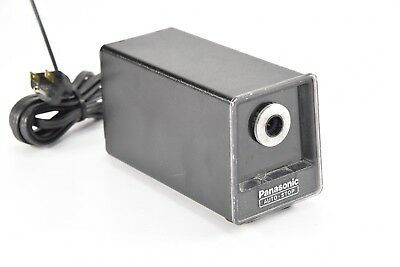 PANASONIC - KP-77 Auto Stop Electic Pencil Sharpener - Vintage - Black - A210