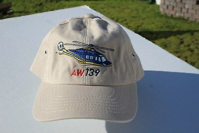 Ball Cap Hat - AW139 - Augusta Westland - Helicopter (H1751)