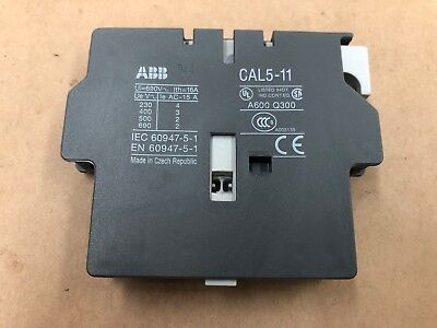 Abb Auxiliary Contact Cal5-11 Industrial Automation