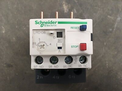 Telemecanique Schneider Electric Lrd08 Realy Tesys-034678 Industrial Electrical