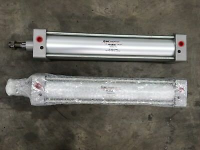 PAIR OF SMC PNEUMATICS 481838 C95SDB80 370 cylinders (x2) INDUSTRIAL pneumatic