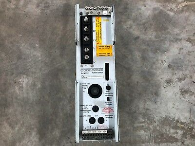 INDRAMAT AC SERVO POWER SUPPLY TVM 1.2-50-220/300 WI Control Equipment