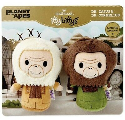 Hallmark Itty Bittys Planet Of The Apes DR ZAIUS & DR CORNELIUS Limited Ed Bitty