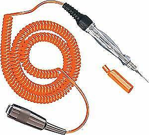 Sunpro CP7841 Mini Circuit Tester with Cord 6' high-visibility coil cord