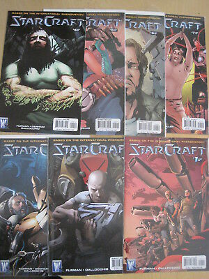 Starcraft : Complete 7 Issue 2009 Series. Based On International Game.star Craft
