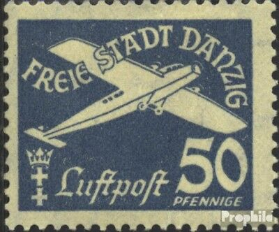 Gdansk 254 used 1935 Airmail