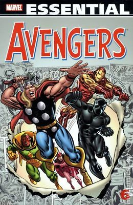 Essential Avengers TPB (2005- Marvel) 2nd Edition #6-1ST 2010 NM Stock Image