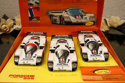 Slot It Rothmans Porsche 956C Team Set 24H. Le Mans 1982 Mint/boxed 1:32