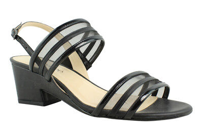 2cfe05be77d New J. Renee Womens Erma-Pablk Black Sandals Size 7.5 Wide (C