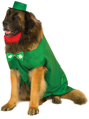 Big Dogs Saint Patrick's Day Leprechaun For Dog Pet Costume Size XXXL 38""