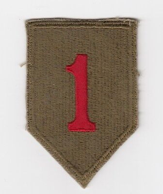 Us Army Patch - 1St Infantry Division - Original Wwii Or Early 1950's