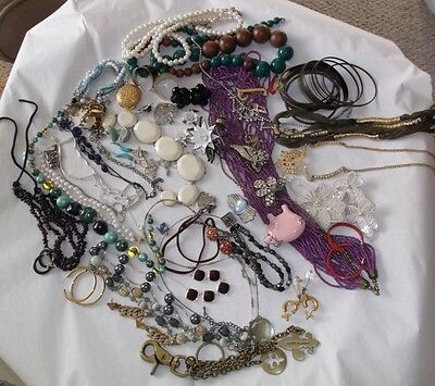 Vintage Lot Of Jewelry- Coro, Avon, Carolee- Repurpose Or To Wear