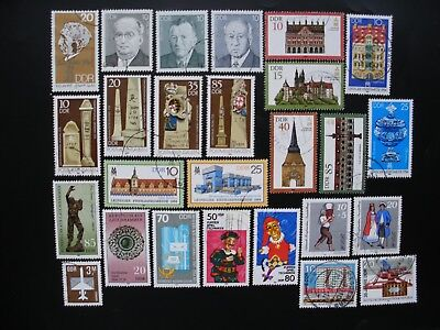 Germany-1984 DDR Complete Year Set of 63 Stamps, 5 Souvenir Sheets CTO NH