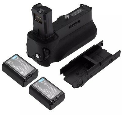 Powerextra VG-C1EM Vertical Grip For Sony A7, A7R, A7S DSLR + 2x NP-FW50 Battery