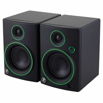 Mackie Cr 4 Pair Studio Monitor Amplified New Official Warranty