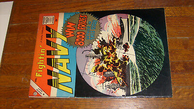 Fightin' Navy #86, 1959 Charlton War Comic