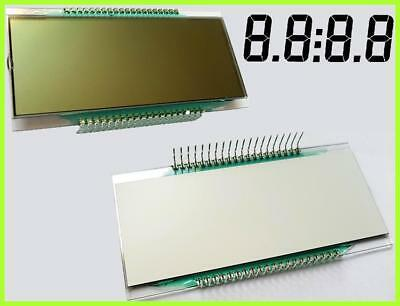 LCD-Display  4-Digit 7-Segment  STN Positive 25,4 mm DE 158-RS-20/8,4 1 Stück