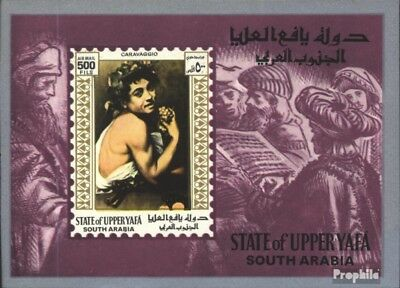 Aden-Upper Yafa block13 (complete issue) unmounted mint / never hinged 1967 Pain