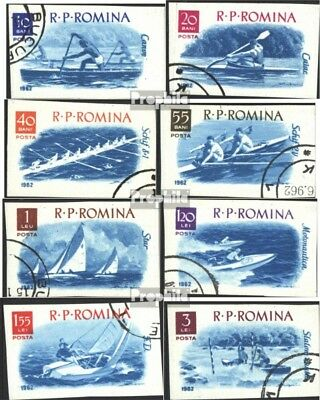 Romania 2056-2063 (complete issue) used 1962 boating