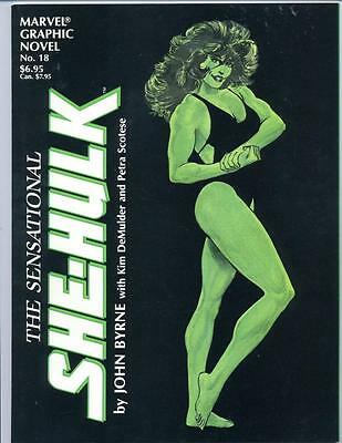 Marvel Graphic Novel #18    The Sensational She Hulk   1985