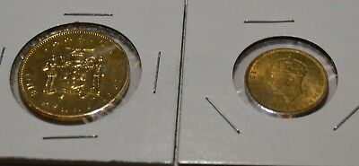 Jamaica British Coinage Farthing Penny Older Date Jamaican Coins  - Ja10