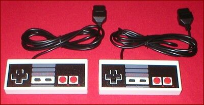 2 Controllers for the Original Nintendo NES System NEW