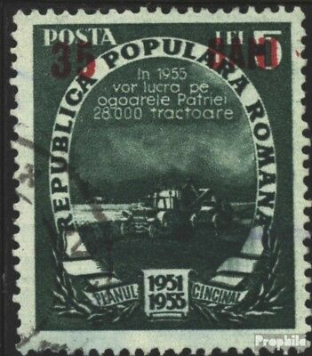 Romania 1357 used 1952 Five-Year Plan