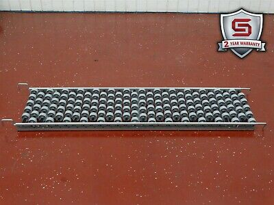 "Skatewheel Conveyor Section Aluminum Frame L56""X W16"""