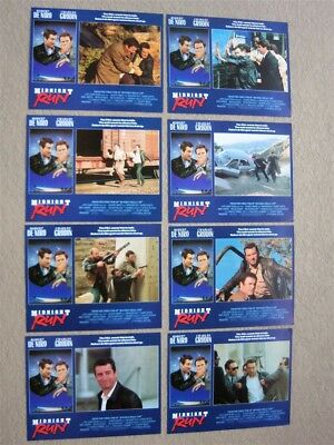 Midnight Run Original 11X14 Near Mint- Lobby Card Set Of 8 1988 Robert Deniro