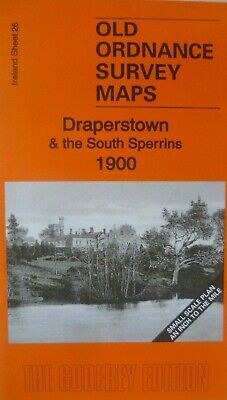 Old Ordnance Survey Maps Draperstown & the South Sperrins  Ireland 1900 New