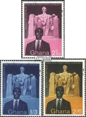 Ghana 39-41 (complete issue) unmounted mint / never hinged 1959 150 years A. Lin