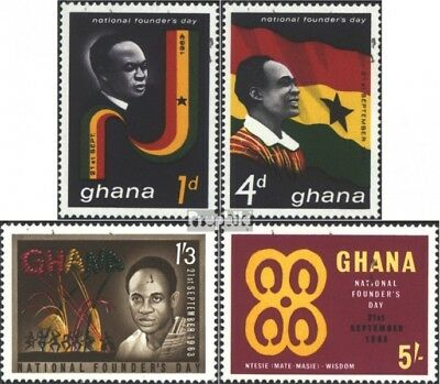 Ghana 153-156 (complete issue) unmounted mint / never hinged 1963 kwame nkrumah