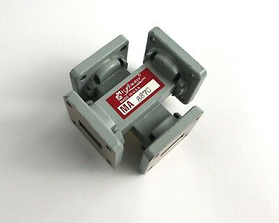 Microwave Associates MA 887C Waveguide Tee Adapter WR-62