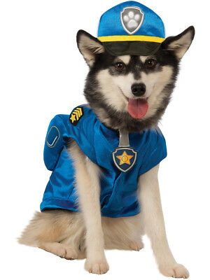 Paw Patrol Chase The Police Dog Pup Pet Costume