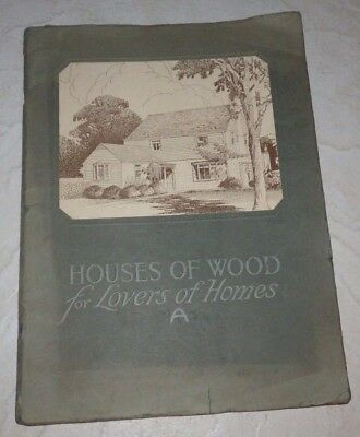 HOUSES OF WOOD FOR LOVERS OF HOMES  Annual Architectural Competition Of 1927