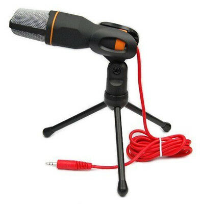 Professional Condenser Sound Podcast Studio Microphone For PC Laptop Game Skype