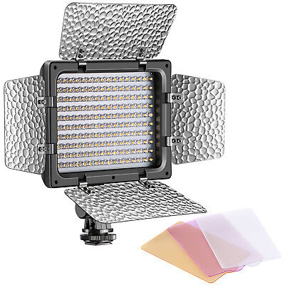 Neewer W160 LED Photo Studio Barndoor Video Light Continuous Lighting Panel
