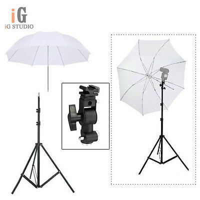 Lighting Umbrella Stand Photography Photo Equipment Soft Studio Bracke Light Kit