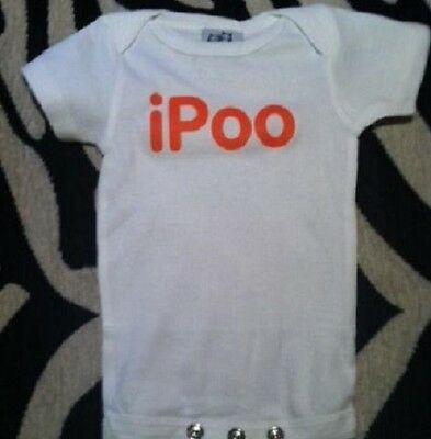 a605f516 I poo funny baby shirt infant bodysuit outfit clothes one piece baby boy  outfit